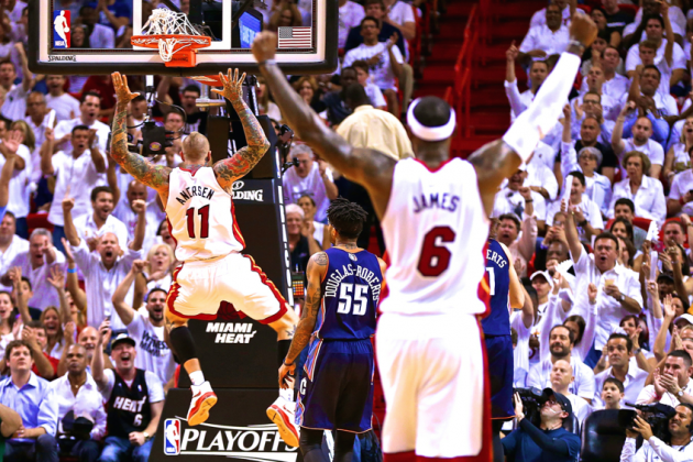 Bobcats vs. Heat Game 2: Live Score, Highlights and Reactions