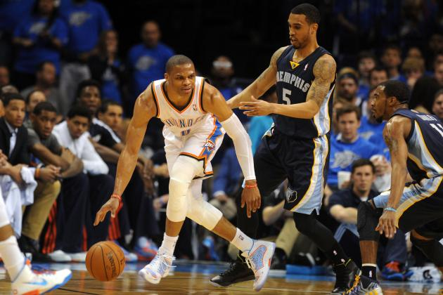 Courtney Lee Says Memphis Grizzlies Don't Mind Russell Westbrook Taking Shots