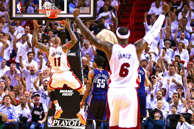 Bobcats vs. Heat: Game 2 Score and Twitter Reaction from 2014 NBA Playoffs