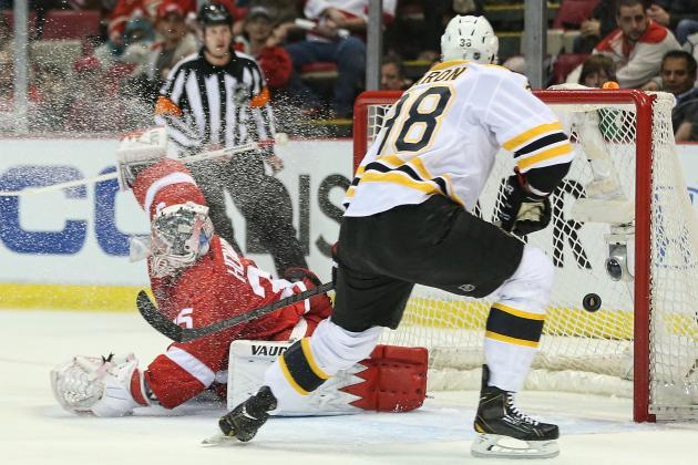 Jordan Caron's Game 3 Goal Encouraging for Boston Bruins, Even If Not for Caron