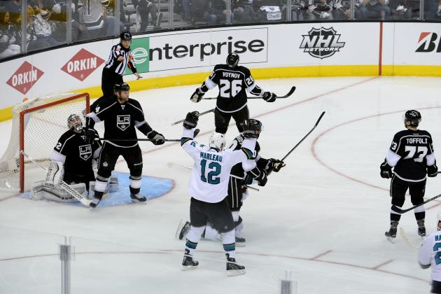 Sharks' Patrick Marleau Surpasses 100 Career Playoff Points
