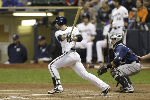 Brewers Bats Wake Up to Beat Padres 5-2