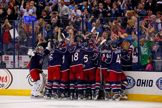 Blue Jackets Couldn't Have Scripted Franchise's 1st Playoff Home Win Better