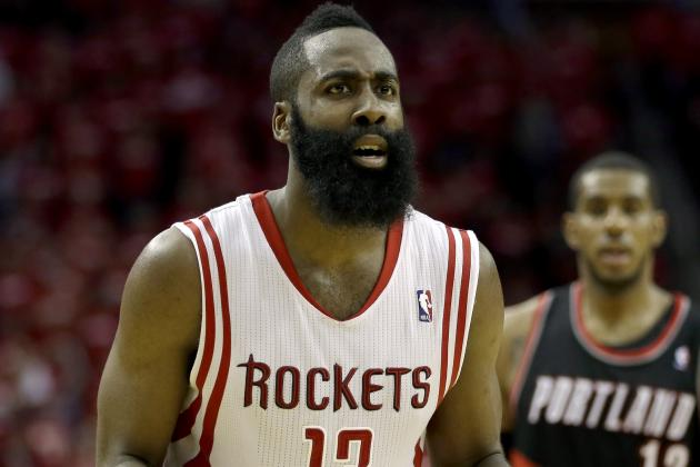 Struggles of Rockets' James Harden Carry over into Locker Room Argument