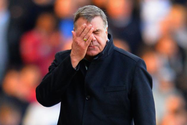 'This Season We Have Underachieved': Sam Allardyce