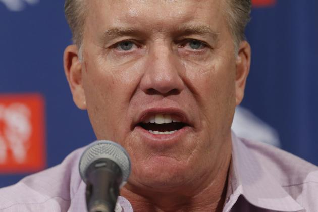 John Elway: Broncos Must 'Come out of the Chute Fast'