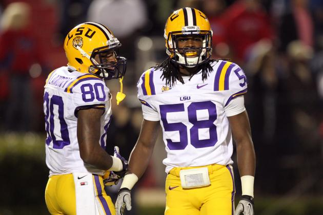 Former LSU LB Tahj Jones out of Hospital After Gunshot Wound