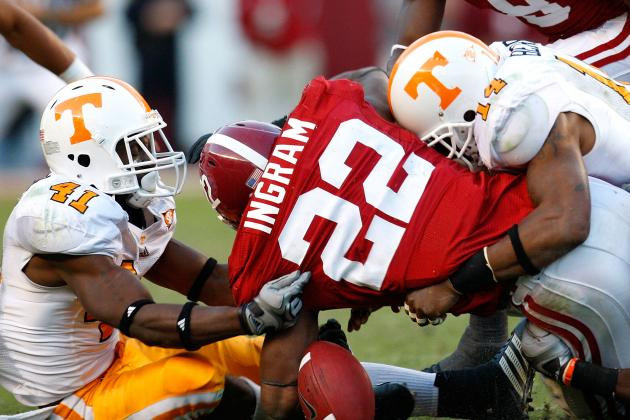 Alabama Football: Losing the Football Means Double Trouble for Running Backs