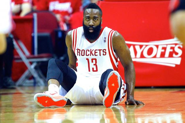 James Harden Failing to Show Up for Houston Rockets at Worst Possible Time