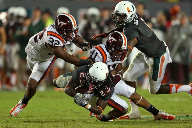 Top 3 Defensive Players to Watch in the Hokies' Spring Game