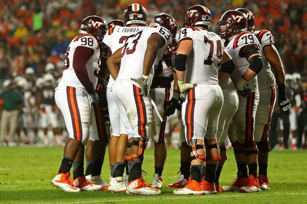 Bigger Might Be Better for Hokies' Offensive Line