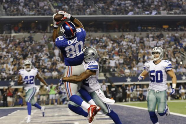 Victor Cruz Looking to Hit More Home Runs in 2014