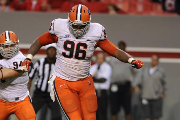ESPN's Kiper Jr. Places Syracuse DT Jay Bromley in the 3rd or 4th Round