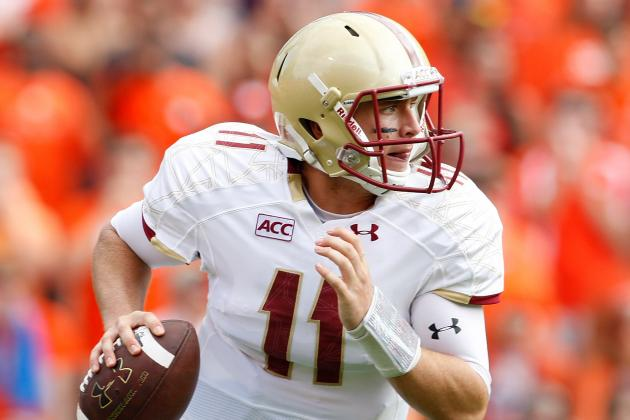 Falcons' Draft Board: Boston College QB Chase Rettig