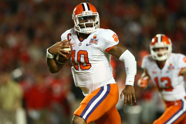 Tajh Boyd Drafted by Jets: Latest News, Reaction and Analysis