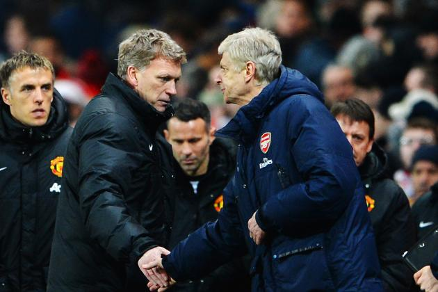 Arsenal Should Learn from David Moyes' and Manchester United's Mistakes