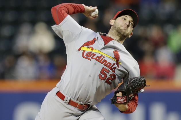 Cardinals' Michael Wacha 3rd Pitcher Since 1900 with 10+ Ks in 4 Innings or Less