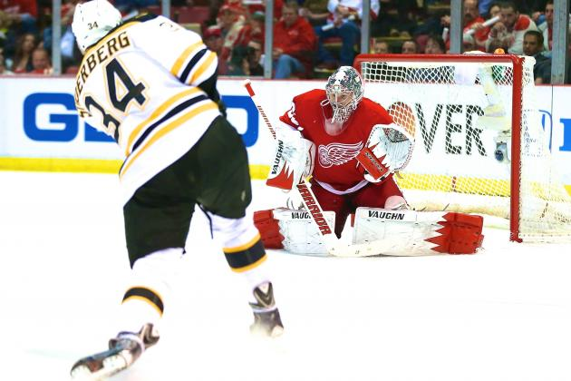 Boston Bruins vs. Detroit Red Wings Game 4: Live Score and Highlights