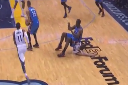 Video: Perkins Takes a Seat on Miller