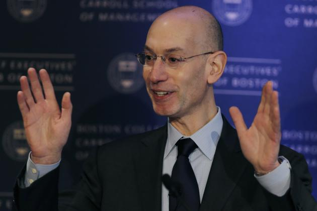 Adam Silver Has 'No Expectation' of CBA Opt-Out Leading to 2017 NBA Lockout