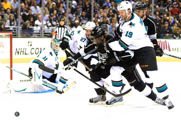 San Jose Sharks vs. Los Angeles Kings Game 4: Live Score and Highlights
