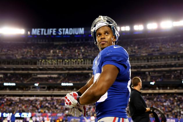 New York Giants' Victor Cruz on His Offseason, Rueben Randle and More