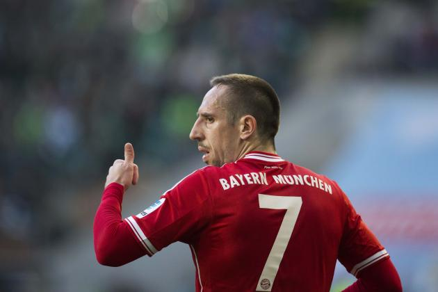Solving the Mystery of Franck Ribery: Bayern Munich Role vs. France Role