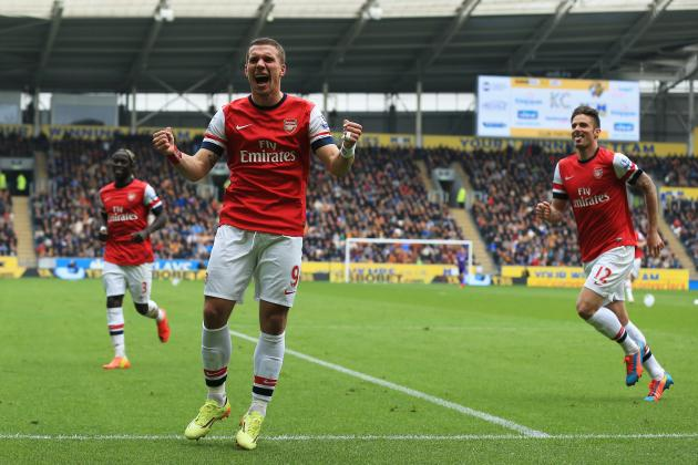 Why Striker Lukas Podolski Must Remain at Arsenal