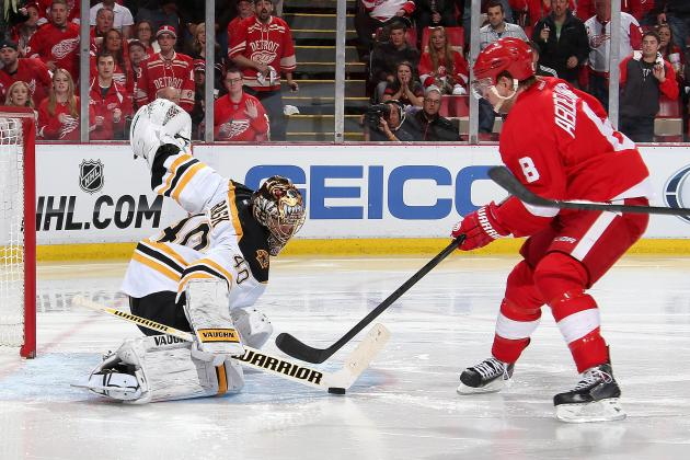 Tuukka Rask Comes Up Big for Boston Bruins in Game 4 vs. Detroit Red Wings