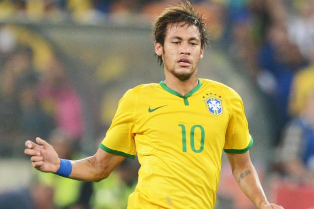 Neymar Exclusive: Brazil Star Talks World Cup, Barcelona and His Football Heroes
