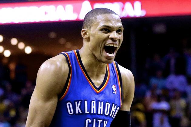 Russell Westbrook Converts Amazing 4-Point Play Against Memphis Grizzlies