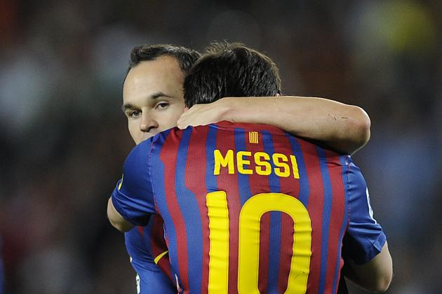 Andres Iniesta Calms Lionel Messi Exit Fears as Roberto Martinez Talks Barcelona