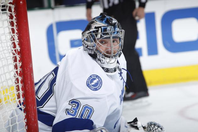 Ben Bishop Reaction to Being Named Vezina Trophy Finalist Video
