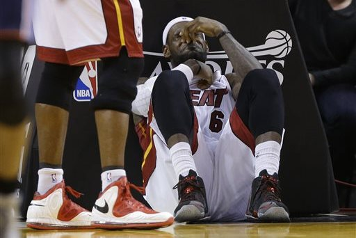 Miami Heat Unhappy That NBA Isn't Doing More to Protect LeBron James