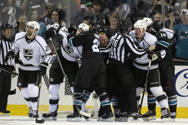 Video: Tempers Boil over Between Kings,Sharks