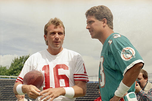 Joe Montana and Dan Marino to Close out Candlestick Park with Flag Football Game