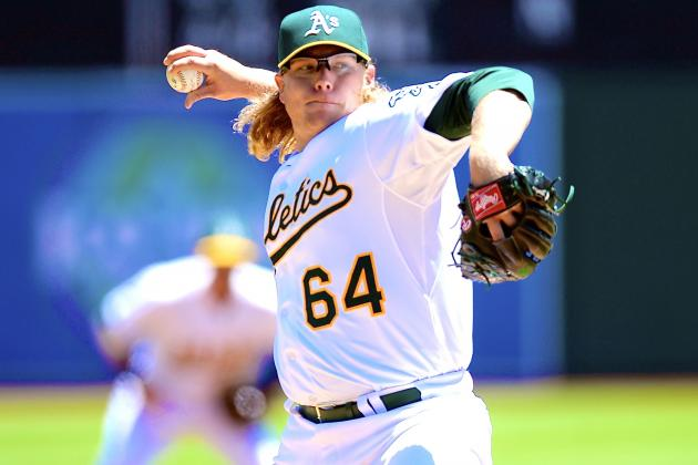 A.J. Griffin Injury: Updates on Athletics SP's Elbow and Recovery