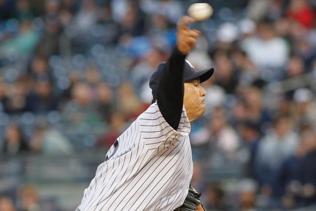 Angels Batter Hiroki Kuroda in 13-1 Win over Yankees