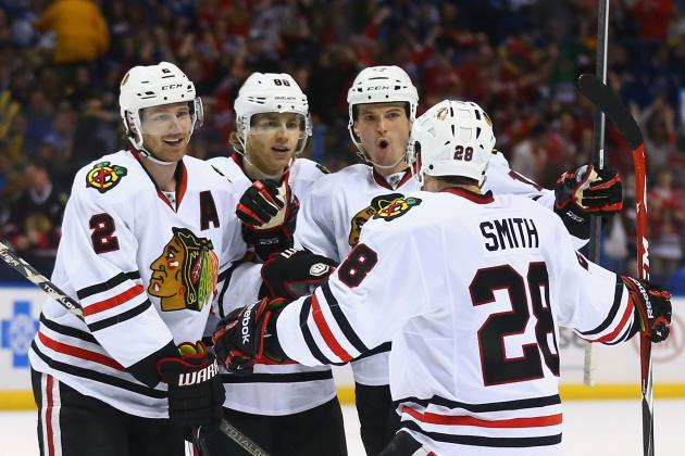 Chicago Blackhawks vs. St. Louis Blues Game 5: Live Score and Highlights