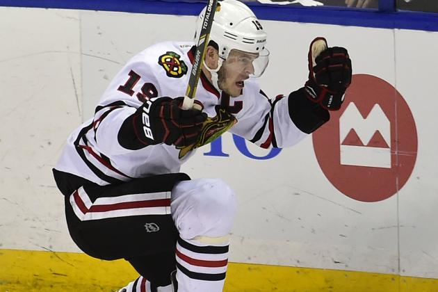 Oh Captain: Toews the OT Hero as 'Hawks Take 3-2 Series Lead on Blues