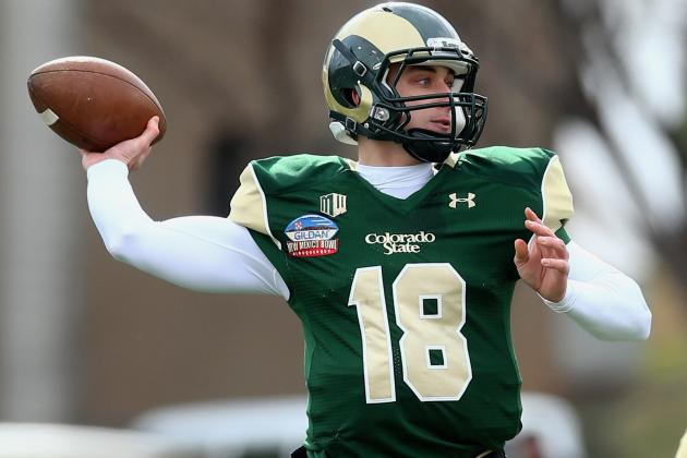 Colorado St. QB Grayson Hurt Moving Couch