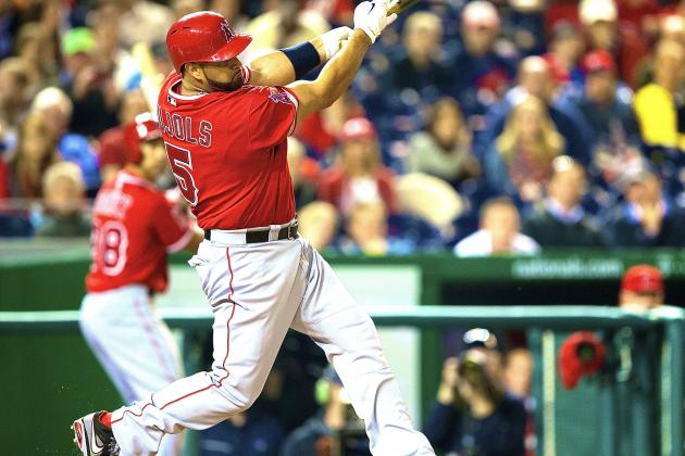 Albert Pujols at 34 Is Back Among the Top Sluggers in Baseball