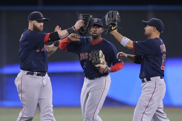 Red Sox Rebound with Rout of Blue Jays