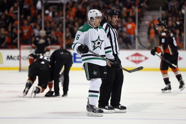 Video: Garbutt Booted from Game for Spearing Perry