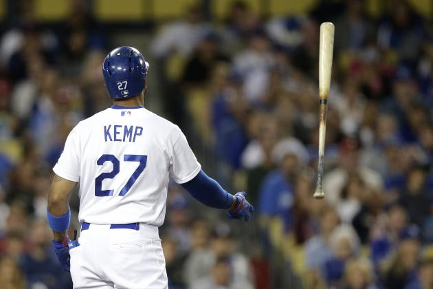 Kemp Ejected in 9th Inning vs. Rockies