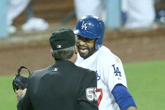Kemp Ejected in Dodgers' 11-Inning Loss to Rockies