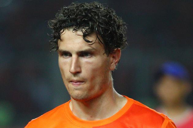 Napoli Chase Feyenoord Star Daryl Janmaat