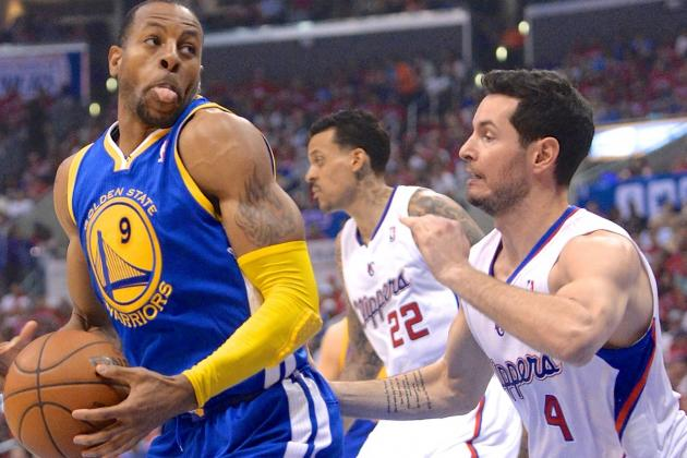 J.J. Redick Outplaying Andre Iguodala Is Clippers' Surprise Edge over Warriors