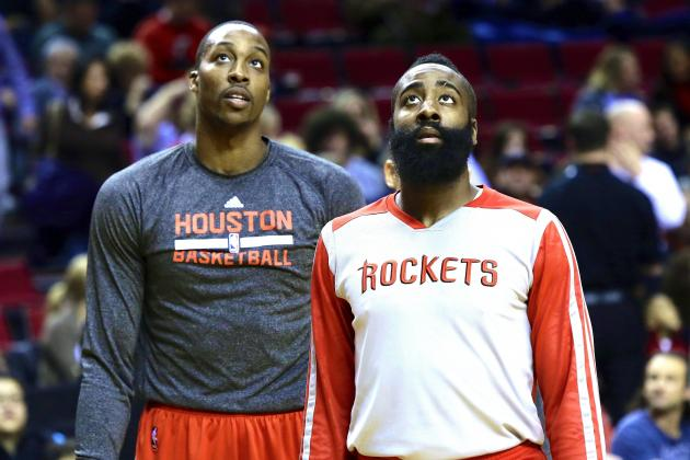 Deep Divide Between Harden, Howard Can't Be Masked by Rockets' Game 3 Victory