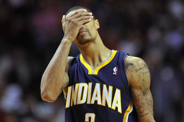 How Much Blame Does George Hill Deserve for Indiana Pacers' Problems?